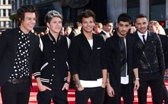 The boys at the 1D: This Is Us movie premiere!