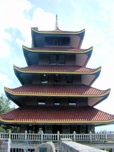 The Reading Pagoda in Reading, Pennsylvania