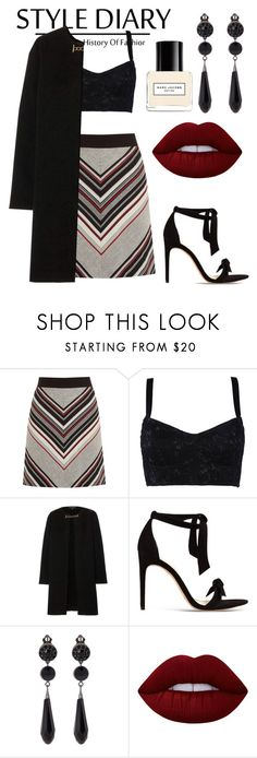 """""""history of fashion"""" by tatianakytt ❤ liked on Polyvore featuring Warehouse, Dolce&Gabbana, Burberry, Alexandre Birman, Givenchy, Lime Crime and Marc Jacobs"""