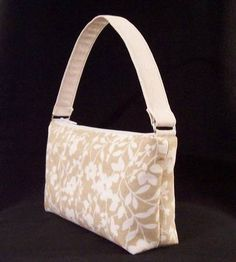 Tutorial: Tan Flowers handbag (pic heavy) - PURSES, BAGS, WALLETS