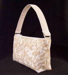 Tutorial: Tan Flowers handbag