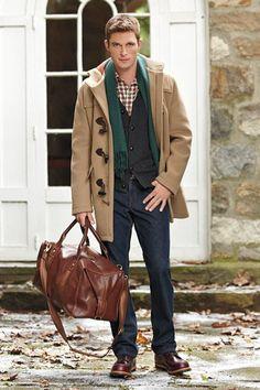 mens fashion, fall, jacket, sweater, fashion