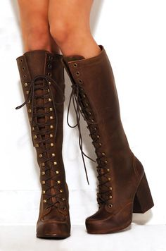Jeffery Campbell Denton. Not that I need more boots, but <3