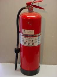 Keep a multi-purpose fire extinguisher accessible, filled and ready for operation