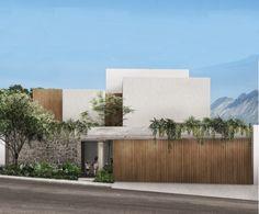 CASA CONVENTO — FUNDAMENTA House Front Design, Small House Design, Modern House Design, Contemporary Design, Minimalist Architecture, Modern Architecture House, Architecture Design, Modern Bungalow House, Modern Mansion
