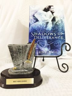 Jane from the Shadows Trilogy won Best Hero/Shero at the 2016 Ozarks Indie Book Fest.