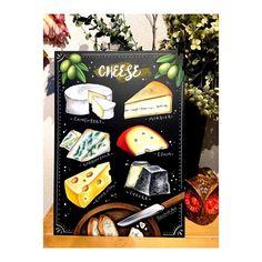 いいね!14件、コメント1件 ― にじいろ工房 RYOさん(@hayasakaryo)のInstagramアカウント: 「RYOオリジナル通信教材 #黒板の会 2月はチーズボードです╰(*´︶`*)╯♡ いろんなチーズの描き方、 とっても楽しいよ ◉黒板の会  毎月違うデザインを月末にお届け♪…」