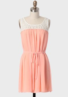 Grand Ballet Sash Belt Dress