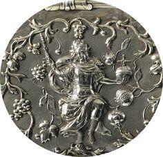 Aiguière et son bassin en argent et vermeil par Marx Weinold, Augsbourg, vers 1697-1699