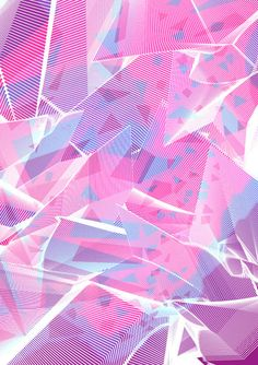 Crystal / light refraction inspired design - Sarah Mutter