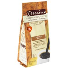 Detox Herbs, Coffee Substitute, Burnt Sugar, Chicory Root, Roasted Almonds, Coffee Branding, Organic Herbs, Mint Chocolate, Pumpkin Spice
