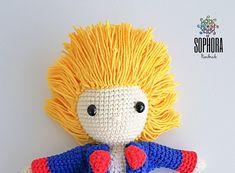 Photo Tutorial, Cotton Thread, Hello Kitty, Crochet Patterns, Crochet Hats, Etsy, Relleno, The Little Prince, Amigurumi Patterns