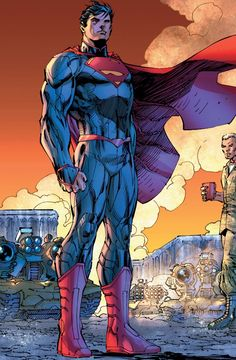 #Superman #Fan #Art. (Superman Unchained) By: Jim Lee.