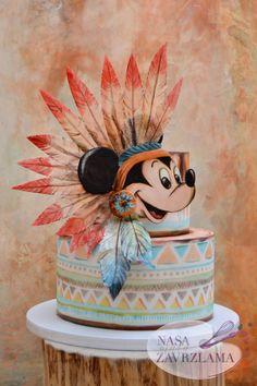 Mickey Mouse cake by Nasa Mala Zavrzlama