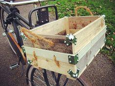 woody-woody SPEKKOEK fietskoffer / fietskrat: van door WOODYWOODYnl