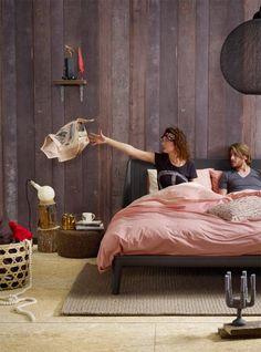 Auping Essential - Carbon Black, with Inizio-mattresses