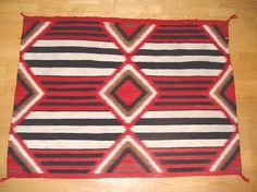 Navajo Third Phase Chief Blanket pattern 040817-01 AAIA, Inc. deals in antique & contemporary Native American Indian art and artifacts. We Buy, Sell, Consign, Appraise, Restore & Research. #Antique #American #Indian #Art (949) 813-7202 mwindianart@gmail.com