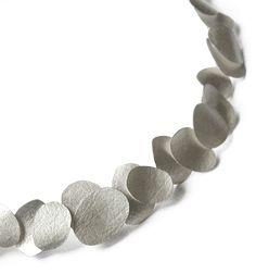 Petal Necklace Silver