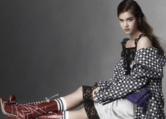 awesome Miu Miu taps Millie Brady, Julia Garner, Matilda Lutz and India Salvor Menuez for its women's campaign by Steven Meisel  [campaign]