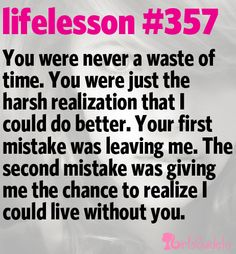 Little Life Lesson #357: Your Mistake | GirlsGuideTo