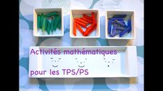 Activités mathématiques TPS - PS Lectures, Magazine Rack, Ps, Shelves, Storage, Furniture, Decor, Nursery Rhymes, Preschool