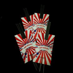 4th of July Sparkler Favor. Printable from www.skiptomylou.org