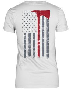 Firefighter Thin Red Line. The perfect t-shirt for any proud firefighter. Available here - https://diversethreads.com/products/firefighter-thin-red-line?variant=19065527813
