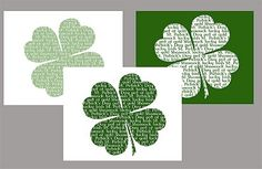 a lot of st. patty's day printables :)
