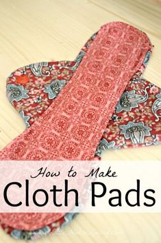 Get a free Cloth Pads Pattern. Cloth Pads step by step tutorial and free cloth pads sewing pattern so you can make your own mama cloth. Sewing Hacks, Sewing Tutorials, Sewing Crafts, Sewing Tips, Sewing Box, Sewing Patterns Free, Free Sewing, Free Pattern, Hand Sewing