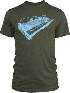 Big Texas Vintage Mixer (Blue) Vintage Tri-Blend T-Shirt