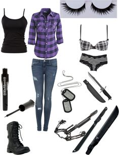 """""""Untitled #66"""" by zombiekiller115 ❤ liked on Polyvore"""