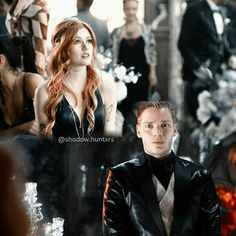 "#Shadowhunters 1x12 ""Malec"" - Clary and Jace"