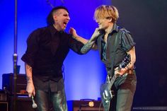 The bromance that is Marilyn Manson & Johnny Depp <3: