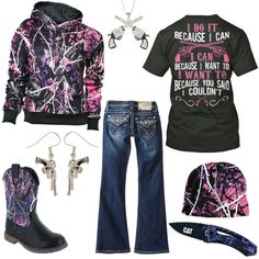 I Do It Because I Can Outfit - Real Country Ladies