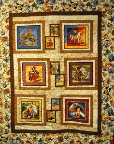 Lickety Stitch Quilts: Vintage Cowgirl Quilt Kits