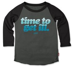Prefresh Get Ill Raglan Grey : Dirt and Noise