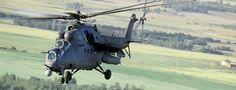 Mi-35M Attack Helicopter Russian Helicopters, Ru Picture 2 of 2 Normal Take-off Weight 10900kg Cruising Speed 260km/h. Design based on the Mi-28. Click for the video
