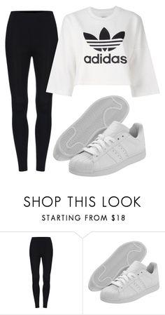 """Adidas"" by maritkrijt ❤ liked on Polyvore featuring adidas Originals"