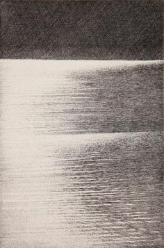 Shigeki Tomura. Reflect on Water 9 2010. Etching, 3/37. 5 3/4 x 3 3/4 inches. $300