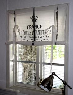 curtain-french farm style