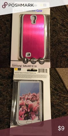 Samsung Galaxy S 5 Case Samsung Galaxy S 5 Durable Protective case. New in box never been used. Samsung Galaxy S 5 Accessories Phone Cases
