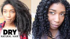 Moisturizing Dry Natural Hair | Retaining Moisture - Naptural85