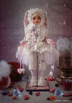 ООАК. Авторская кукла Лу / Авторские куклы (ООАК) / Шопик. Продать купить куклу / Бэйбики. Куклы фото. Одежда для кукол