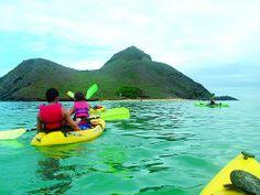 Kayaking in Hawaii ☼ Off the beaten path things to do in Oahu, Hawaii http://www.thewondermap.com/things-to-do-in-oahu-hawaii/