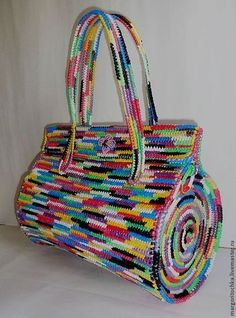 Nice project to use leftover yarns