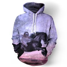 Majestic Sloth Hoodie