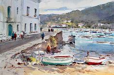 David Taylor - Painting watercolor in Girona - DVD - Movie - Film - Enjoy painting watercolor in Girona - Catalunya - Aquarelle - Acuarela Download Movie