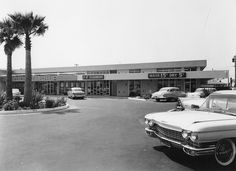 https://flic.kr/p/6FSiCw | Ann Darling Shopping Center San Jose circa 1960 | Ann Darling Shoping Center opened in 1959.  It is located on McKee Road in San Jose (at 33rd Street).  The center today appears much as it did some 50 years ago.  For a view of the sign, see...  www.flickr.com/photos/14696209@N02/3637619424/in/set-7215...  This is a photograph by Arnold Del Carlo.