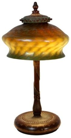 143: Tiffany King Tut Table Lamp : Lot 143