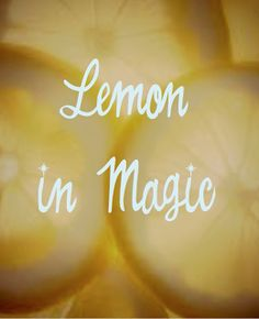Lemon in Magic ~ A slice of lemon placed beneath a visitor's chair will ensure… Lemon Seeds, Protection Spells, Magic Spells, Healing Spells, Moon Magic, Healing Herbs, Book Of Shadows, Witchcraft, Wiccan Spells